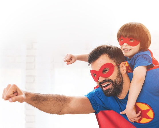 Father's day plan – Super Daddy